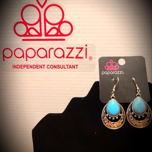 Silver & Blue Earrings